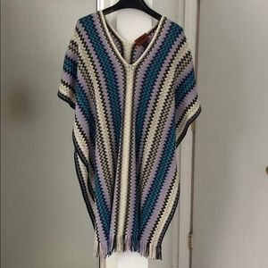 Missoni beach coverup